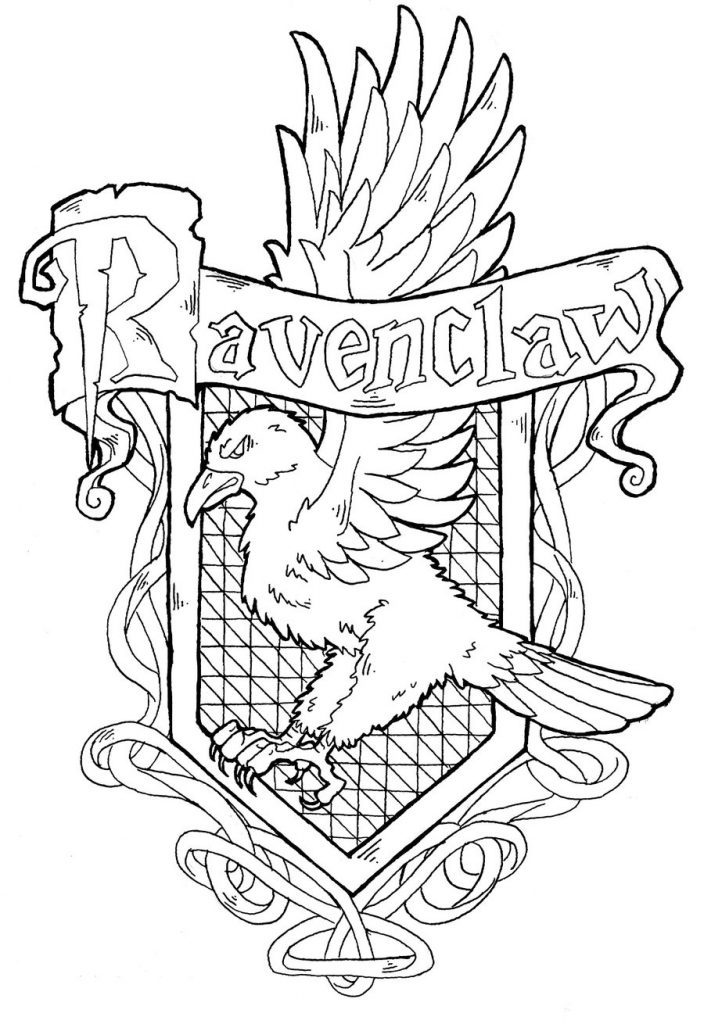 704x1024 Gryffindor House Crest Coloring Page Coloring Page For Kids