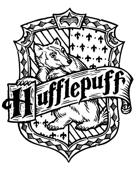 550x700 Harry Potter Hogwarts Hufflepuff Crest Diy Cute Stuff