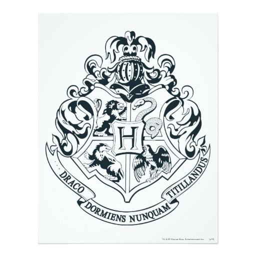 512x512 Hogwarts Crest Coloring Page Index Coloring Pages Harry Potter