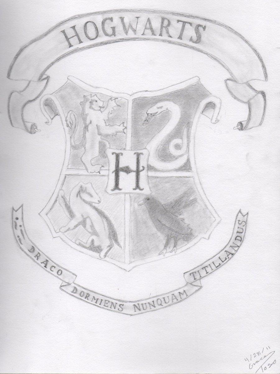 900x1201 Hogwarts Crest By Antisparklevampire