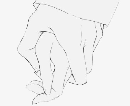 440x358 Hold Hands, Cartoon, Love Png Image For Free Download
