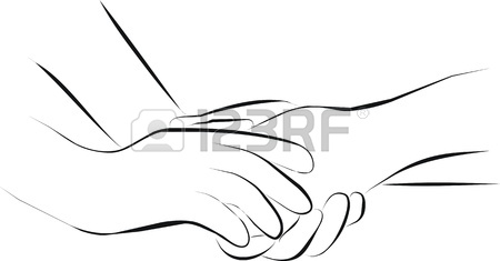 450x235 Palliative Care And Hold Hands Stock Photo, Picture And Royalty