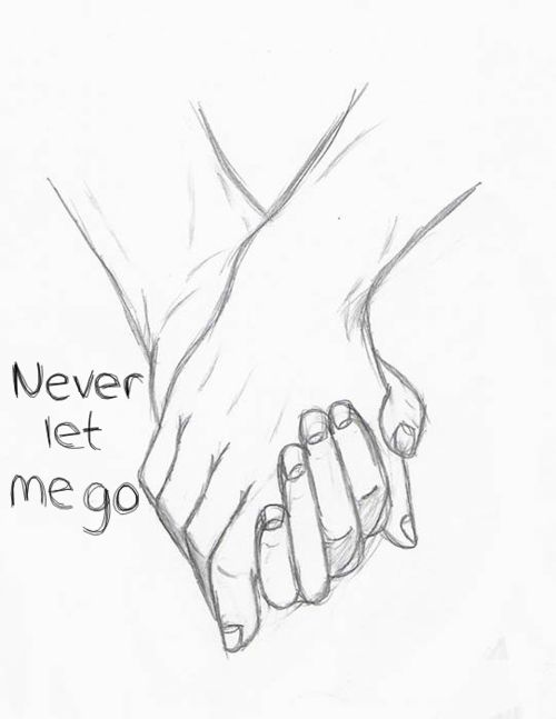 500x647 Photos Cute Drawings Of Lovers Holding Hands,