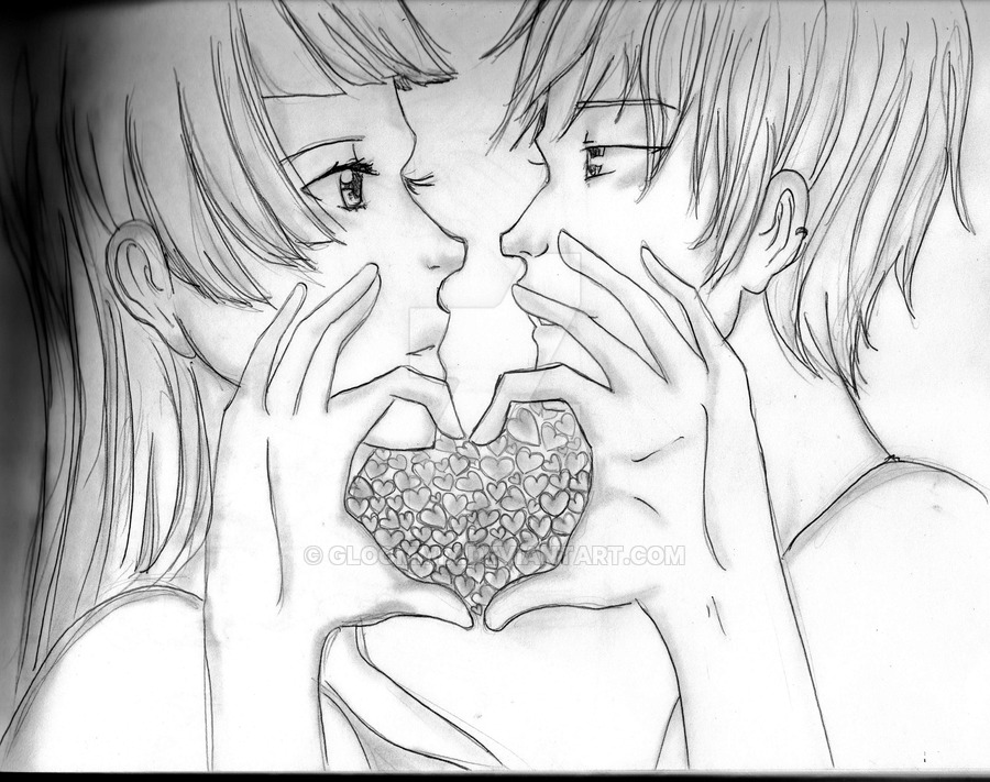 900x711 It Takes Two Hands To Hold A Heart By Gloommix