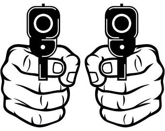 340x270 Holding Gun Etsy