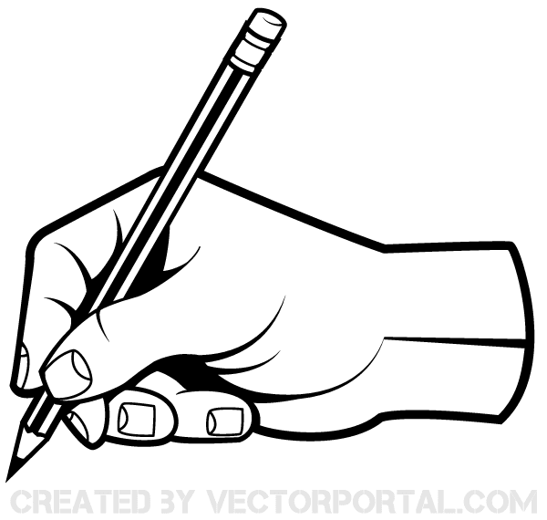 600x570 Sketch Clipart Holding Hand