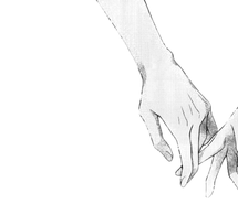 215x185 Anime Love Holding Hands Black And White Hd Wallpaper Gallery