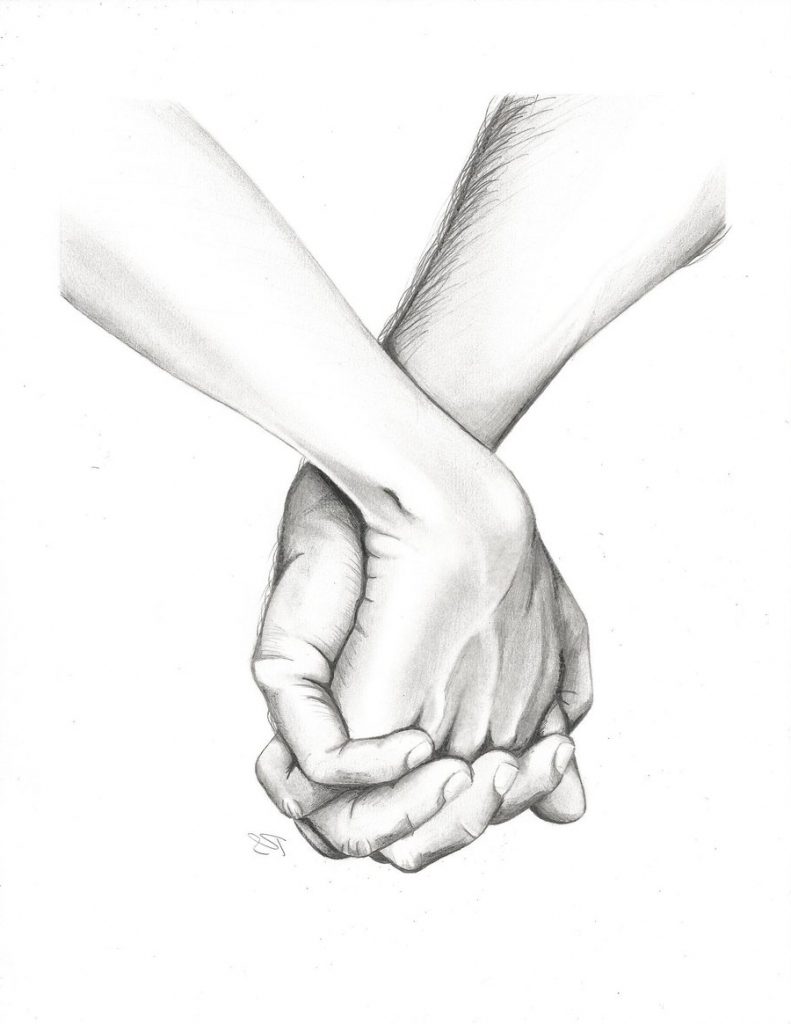 791x1024 Gallery Hand Holding Drawing,