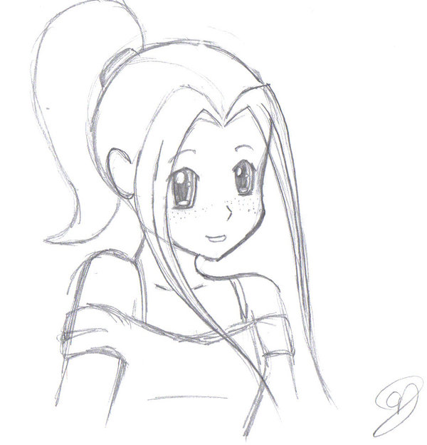 600x624 Drawn Anime Easy