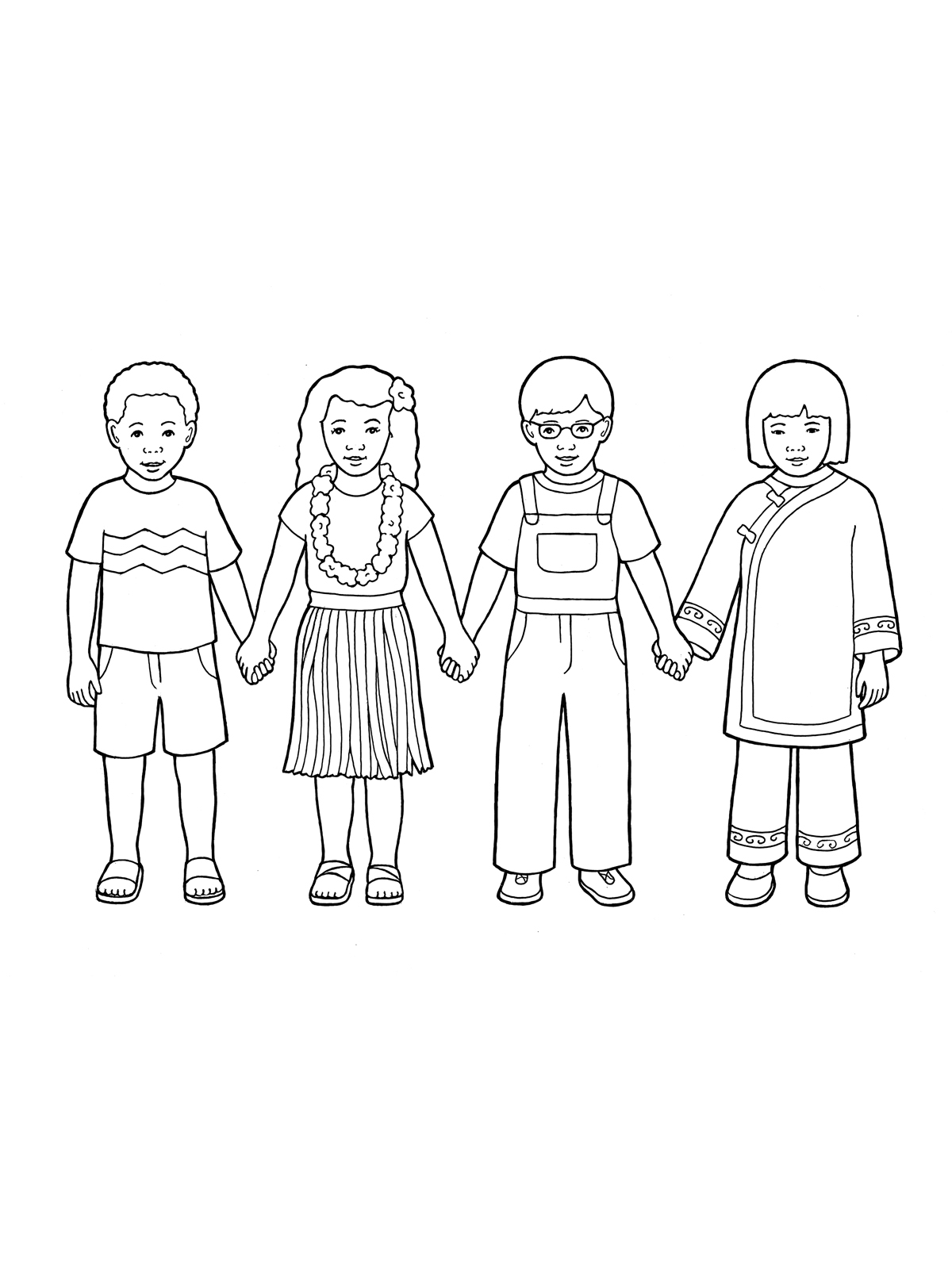 1200x1600 Primary Children Holding Hands