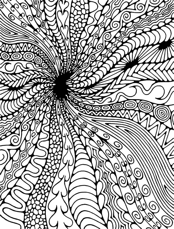 600x788 Abstract, Black Hole Abstract Coloring Pages Coloring