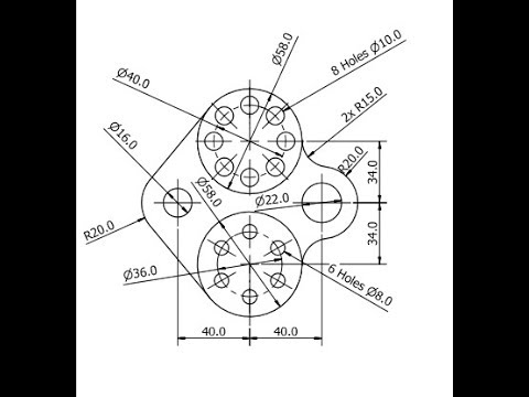 480x360 Autocad 2d Drawing Example 5