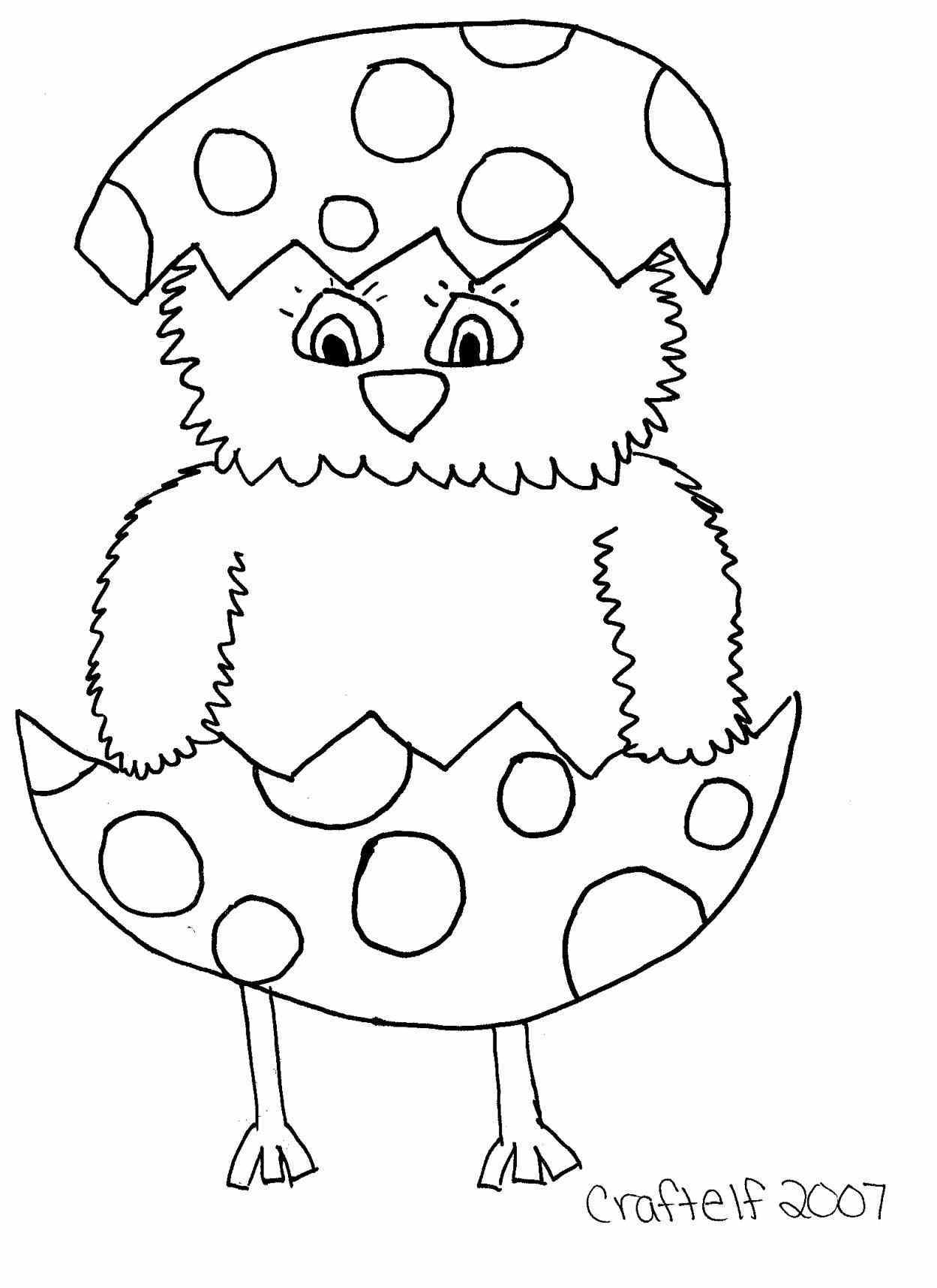 1249x1715 Easter Chick Drawing Page For Kids Holidays Pages And How To Draw