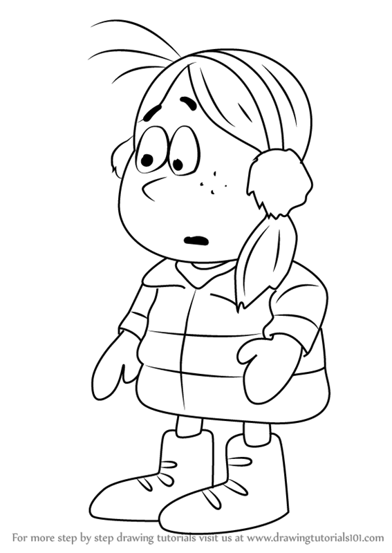 567x800 Learn How To Draw Holly From Frosty Returns (Frosty Returns) Step