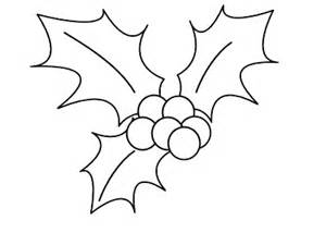300x225 Free Printable Holly Leaf Template