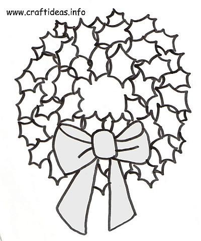 400x480 Christmas Craft Pattern