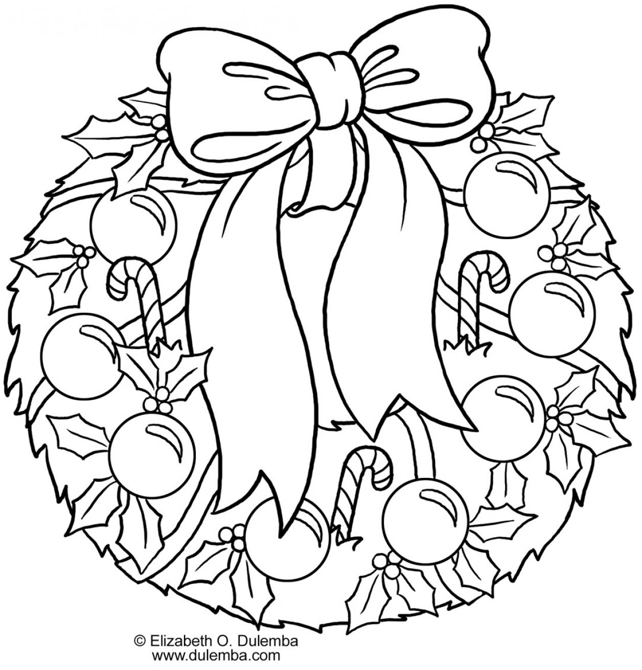 1256x1311 Christmas Holly Coloring Page