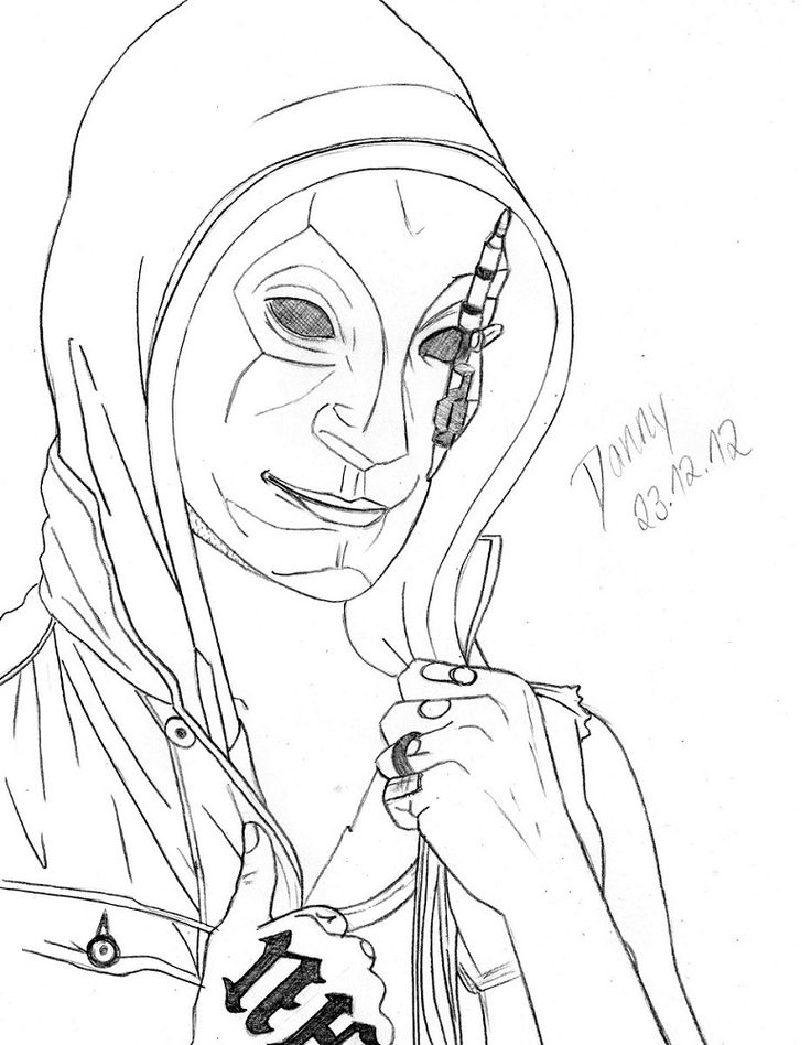 Hollywood Undead Drawing