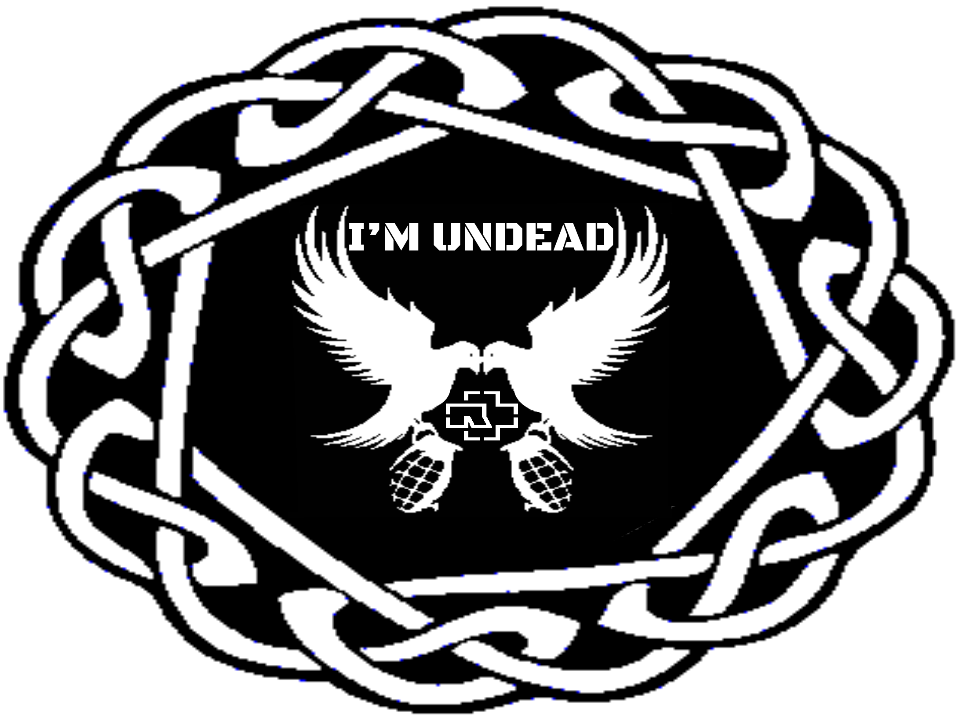 960x720 Hollywood Undeadrammstien Symbols By Crystallinhart