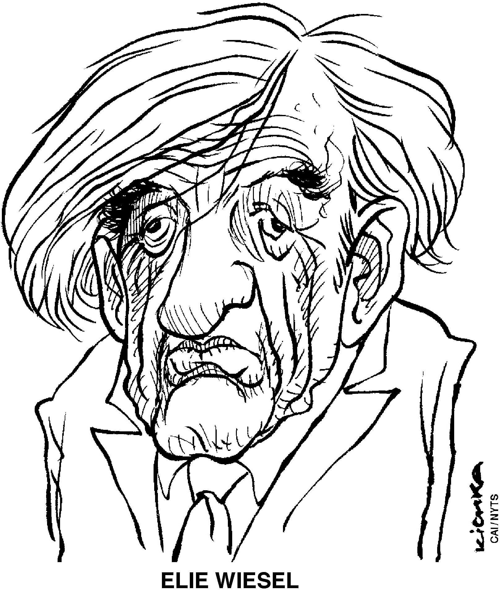 1615x1904 Holocaust Survivor Elie Wiesel's Humble Nobility The Japan Times