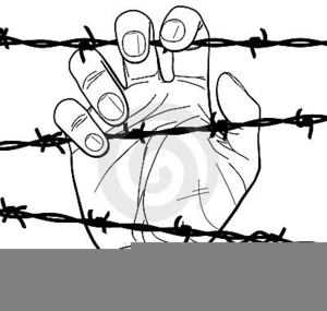 300x285 Barbed Wire Clipart And Holocaust Free Images