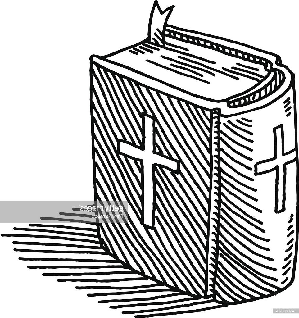 963x1024 Best Hd Holy Bible Book Drawing Vector Library