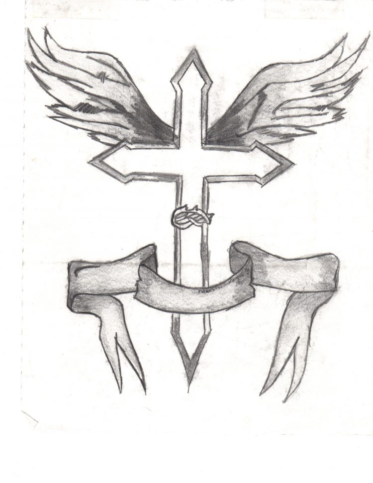 750x971 Drawing Cool Drawings Of A Cross Plus Cool Easy Cross Drawings