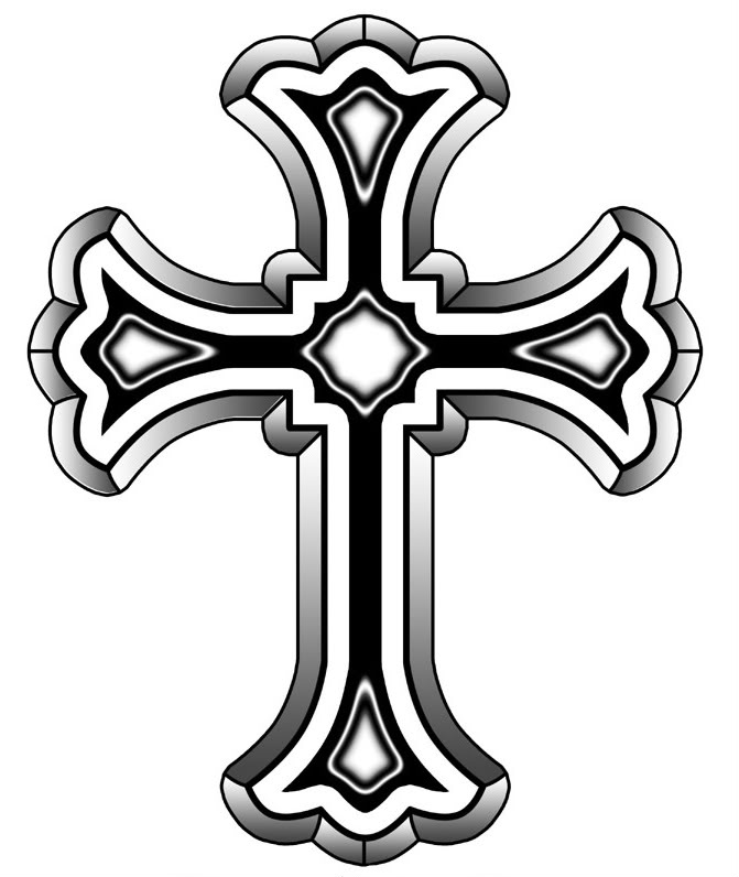 671x796 Drawn Cross Holy Cross