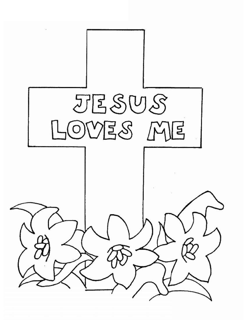 religious easter coloring sheets - Timiz.conceptzmusic.co