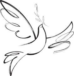 236x242 Images For Gt Holy Spirit Dove Drawing Church Decor