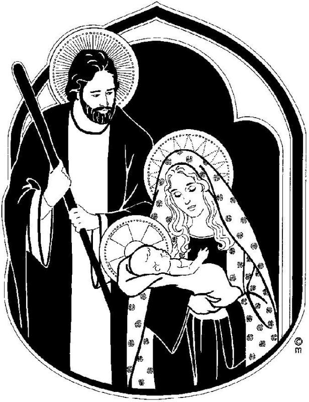 holy family drawing at getdrawings com free for personal use holy rh getdrawings com Holy Family Silhouette holy family clipart black and white