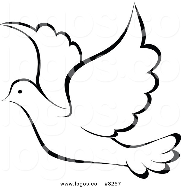 Holy Spirit Dove Drawing at GetDrawings.com | Free for ...