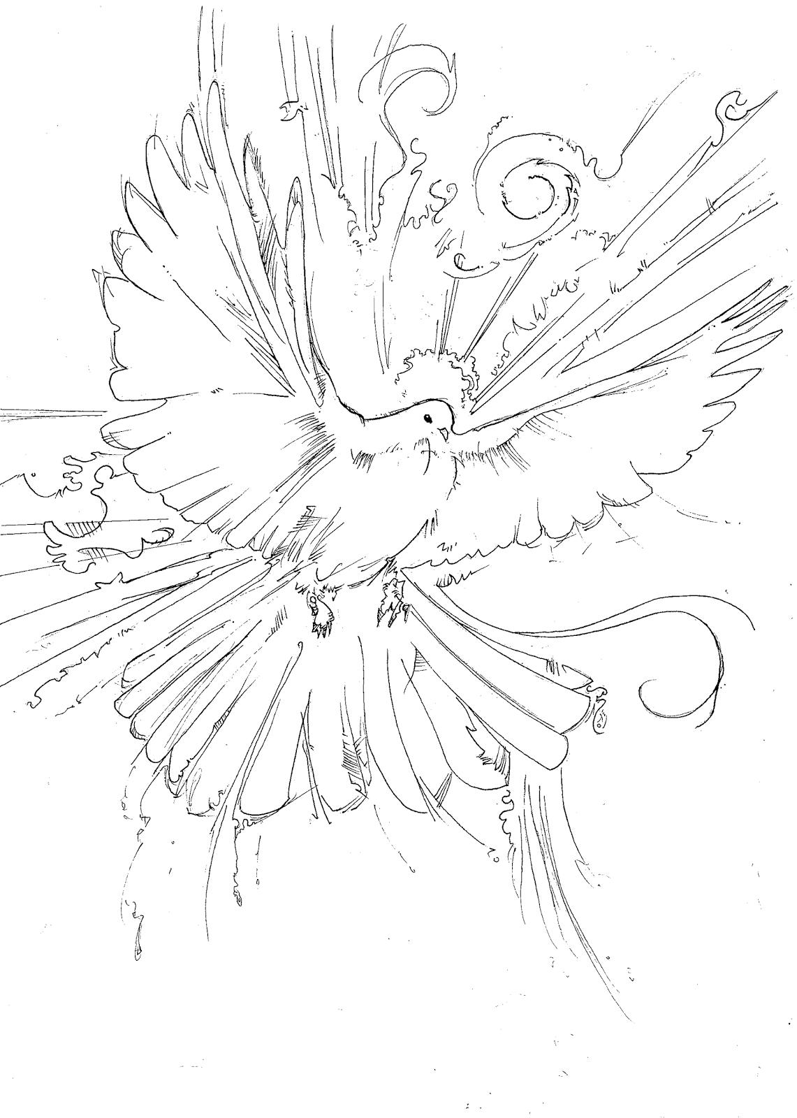 holy spirit drawing at getdrawings com