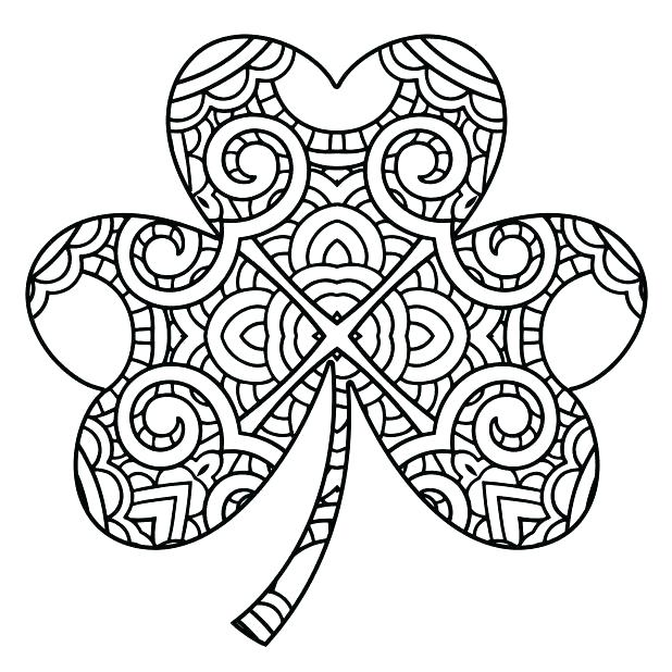 618x618 Holy Trinity Coloring Pages Coloring Pages Shamrocks Holy Trinity