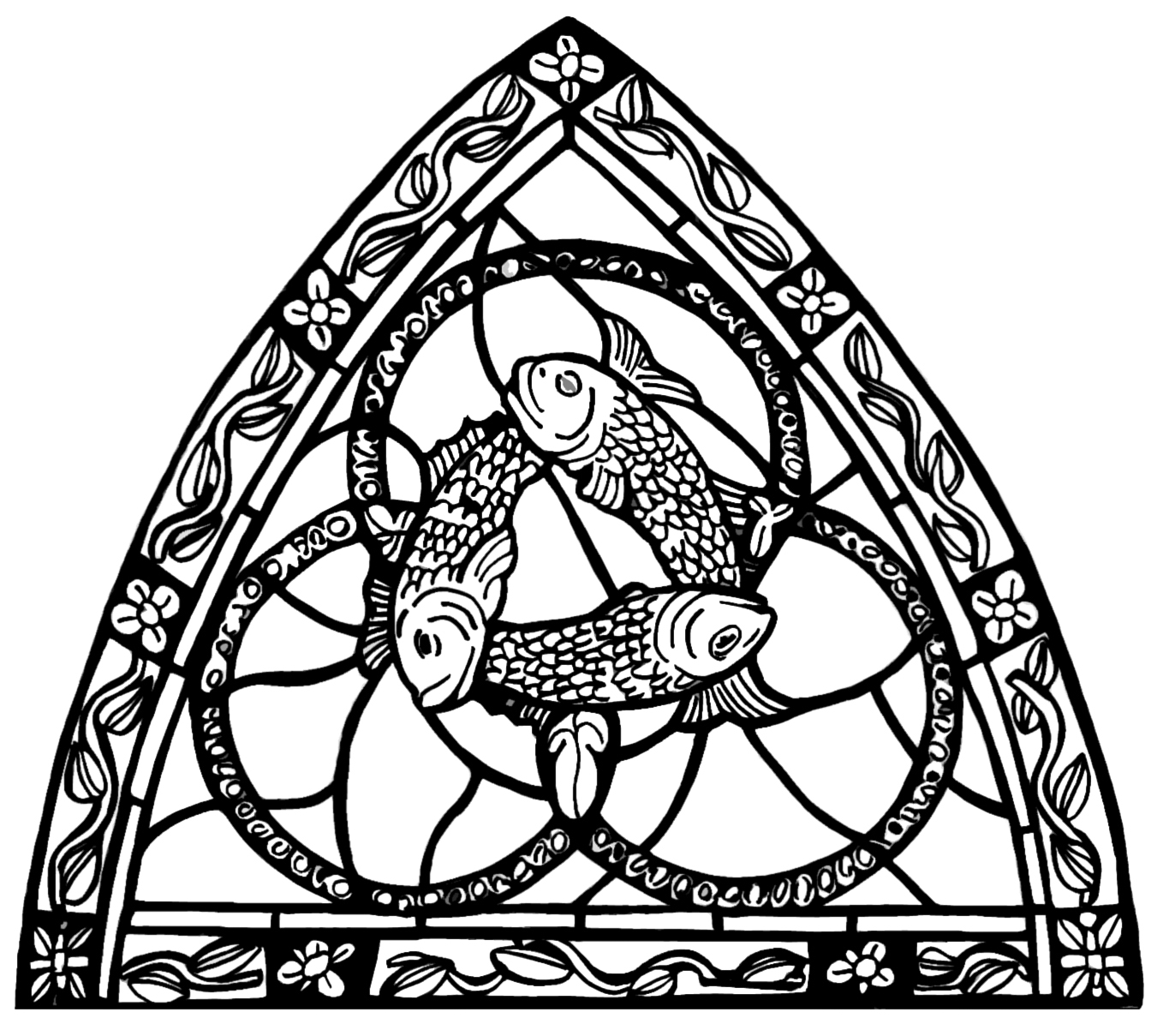 holy trinity coloring pages free - holy trinity drawing at free for
