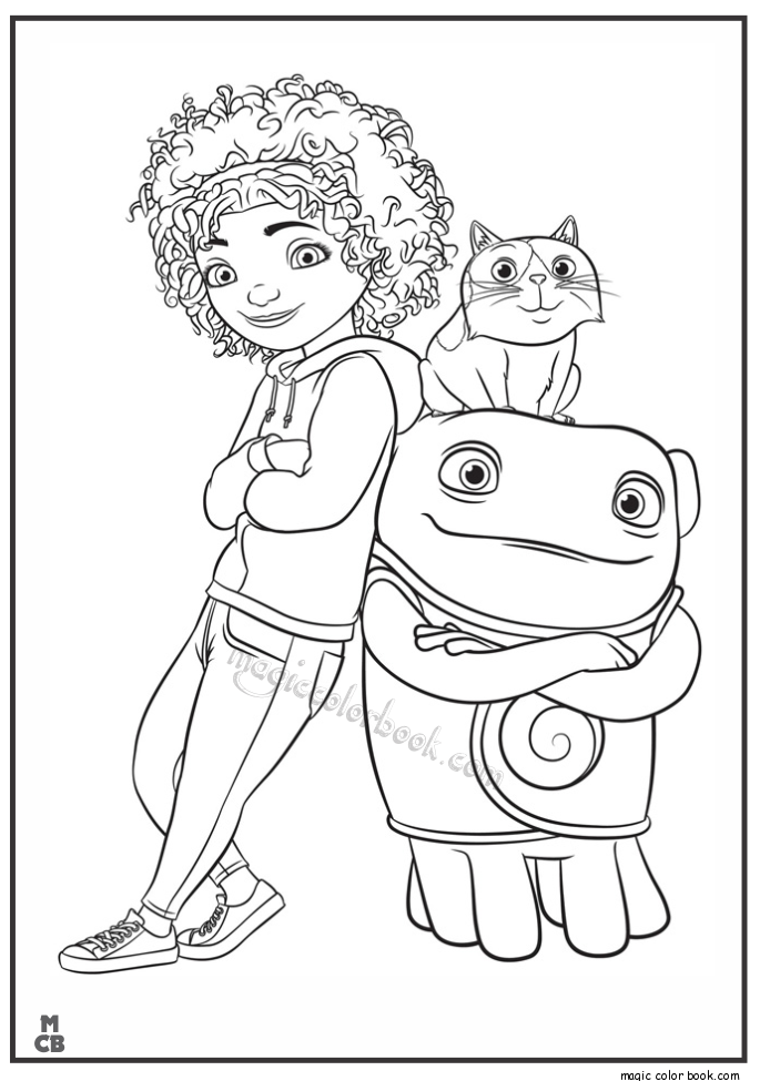685x975 Home Cartoon Free Printable Coloring Pages 11