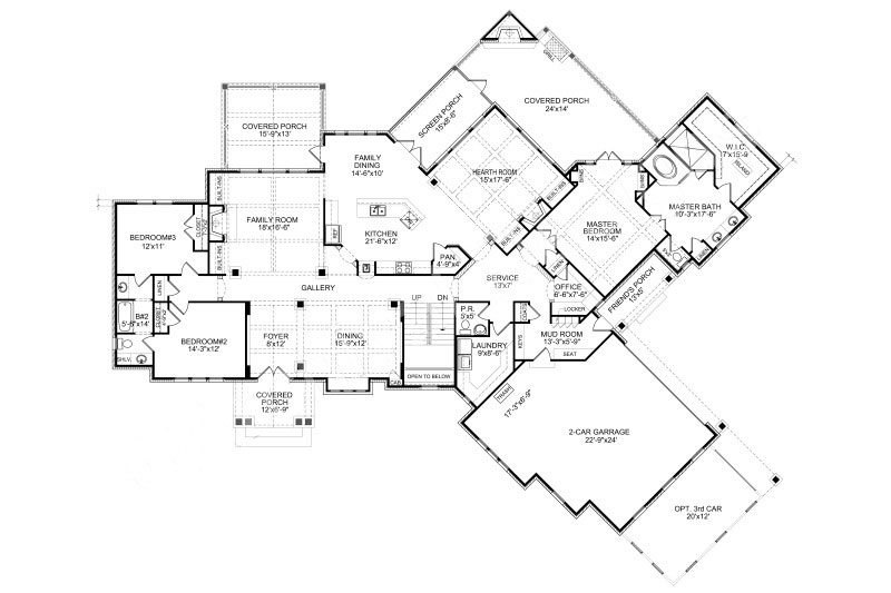 800x533 Landstone House Plan Luxury Estate Mansion Style Floor Plans