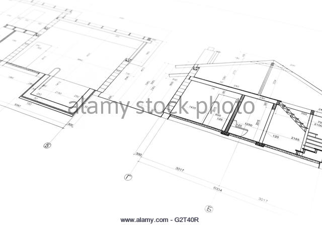 Home construction drawing at getdrawings free for personal use 640x447 blueprint background construction house black and white stock malvernweather Images