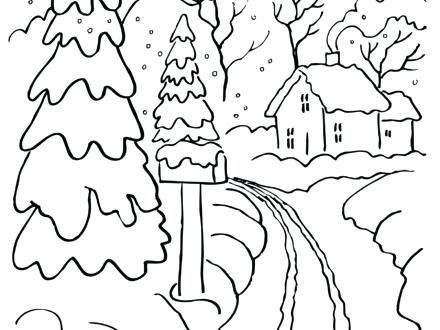 440x330 Rainy Day Coloring Pages Free Home S Of Drawing Page Murs