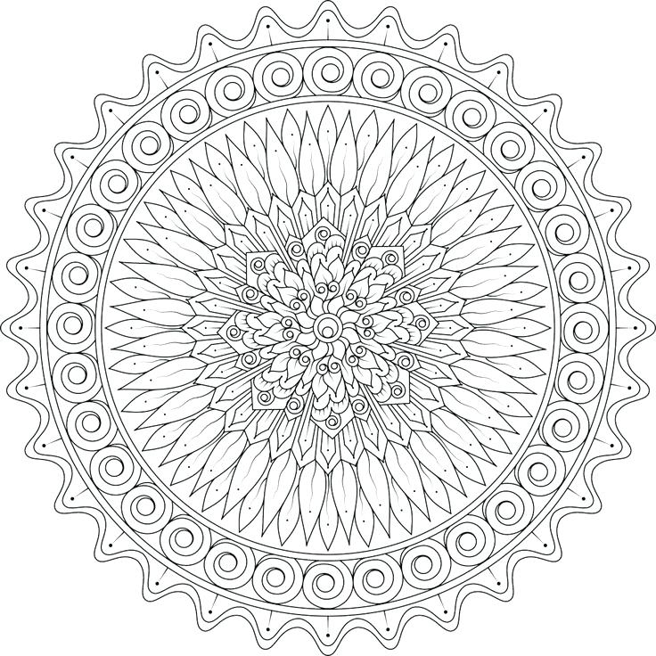 736x736 Love Mandala Coloring Pages Colouring To Funny Draw Page Adult