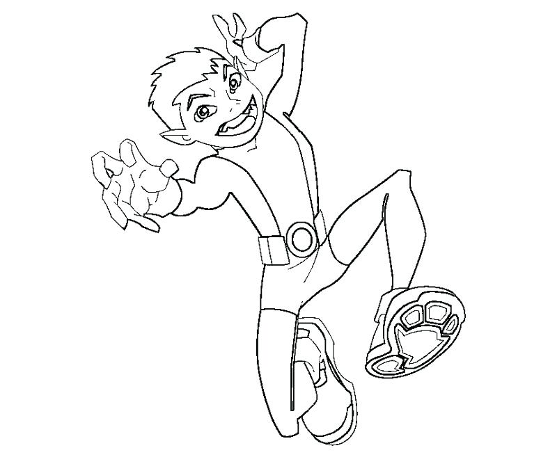 800x667 Teen Titan Coloring Pages Cute Teen Titan Drawing Coloring Page