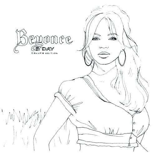 500x500 Beyonce Coloring Book As Well As Coloring Pages 42 Home