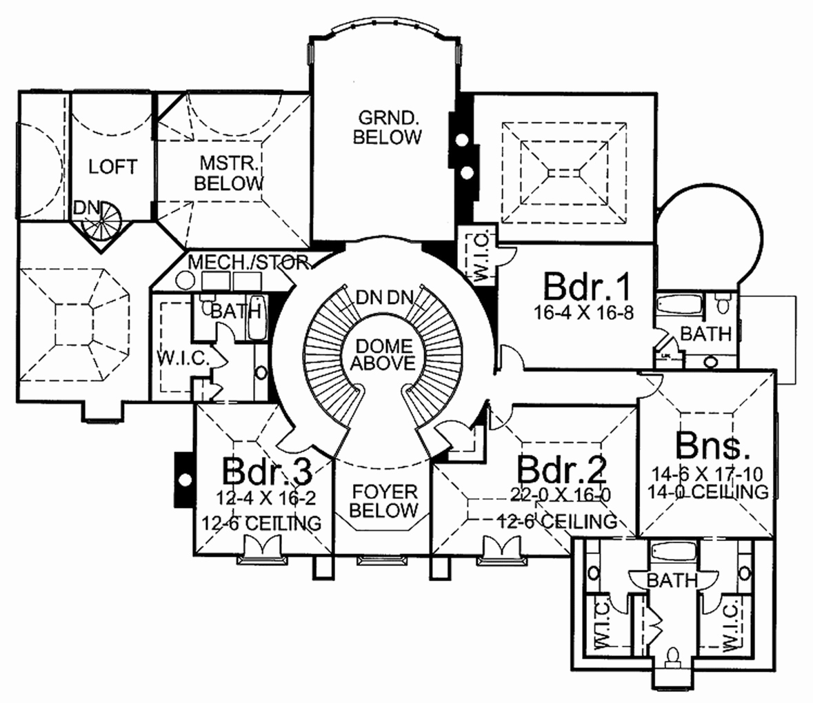 1179x1020 Awesome 4 Bedroom House Plan Drawing