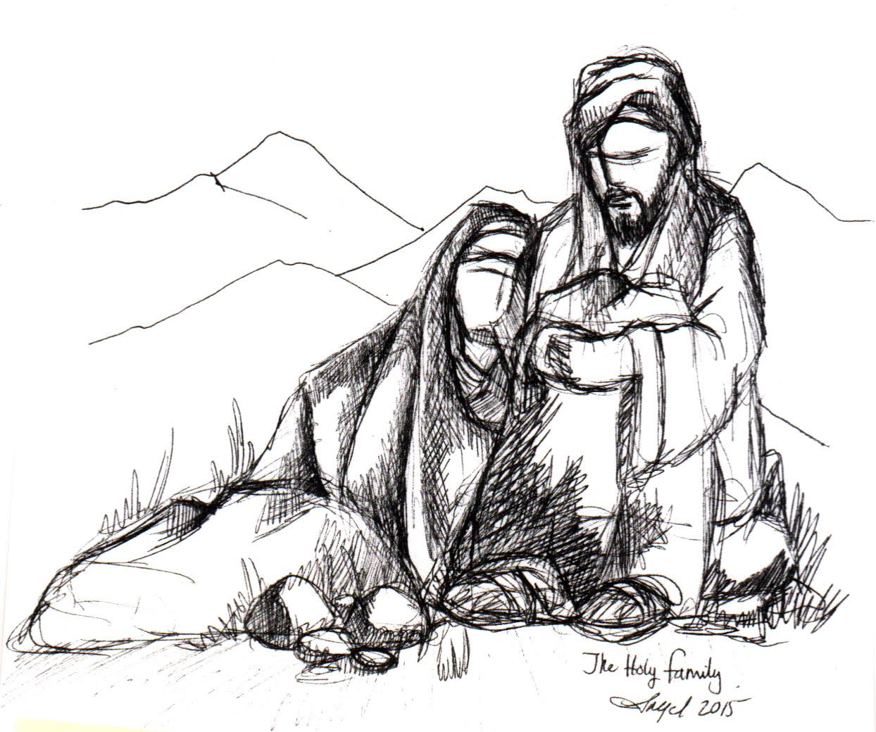 1244x1040 The Son Of God Was Homeless