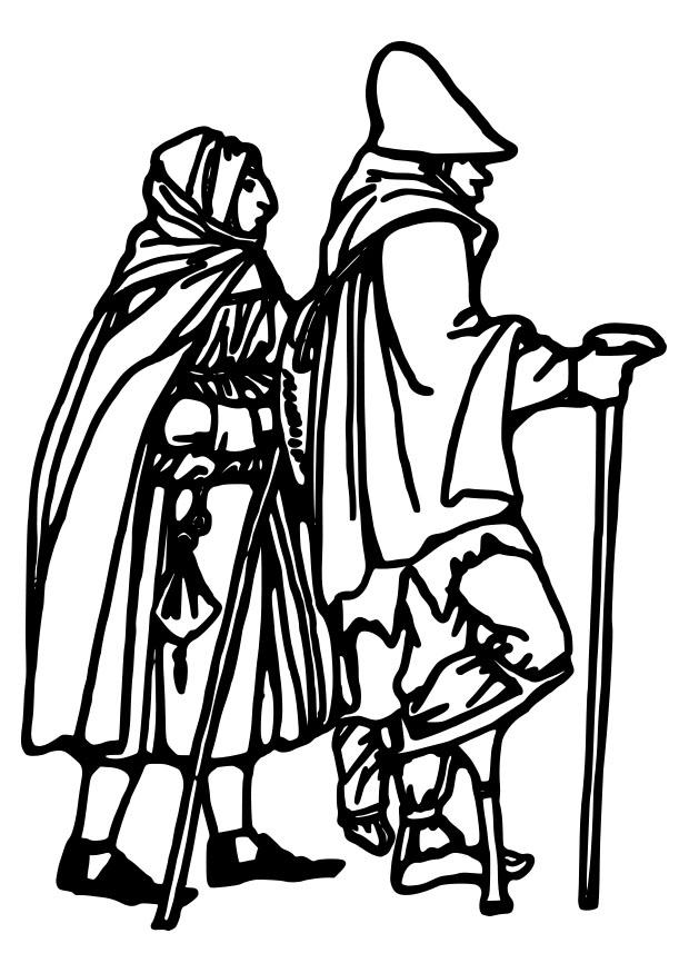 620x875 Coloring Page Homeless Person