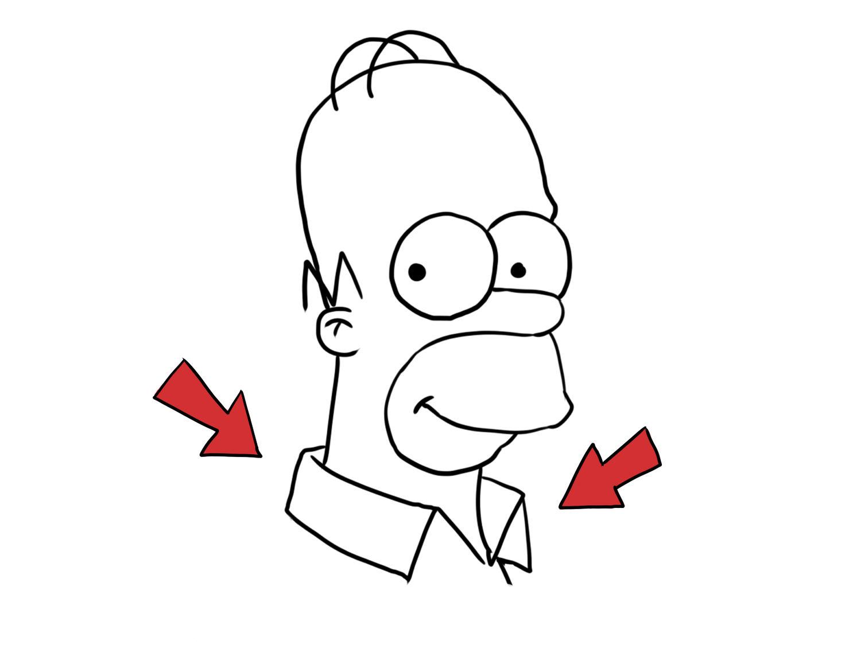 1500x1125 How To Draw Homer Simpson Vripmaster