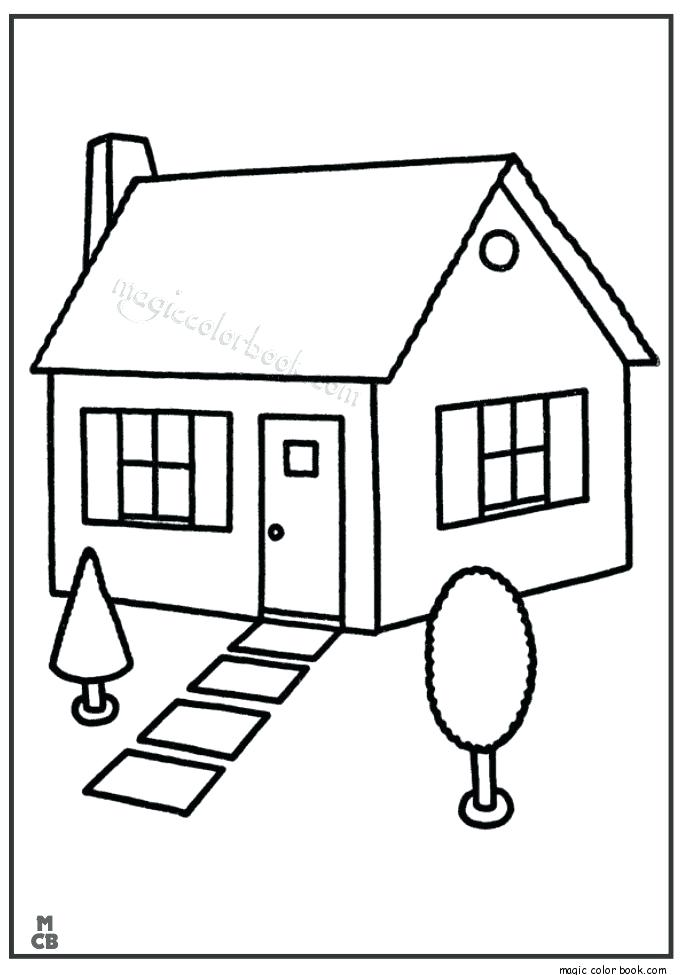 685x975 Home Coloring Pages Kids Under Houses And Homes Coloring Pages My