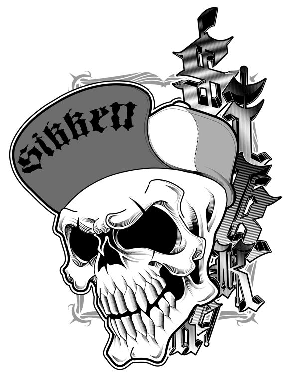 600x779 Skull Homie By Valuedesignz On Skulls