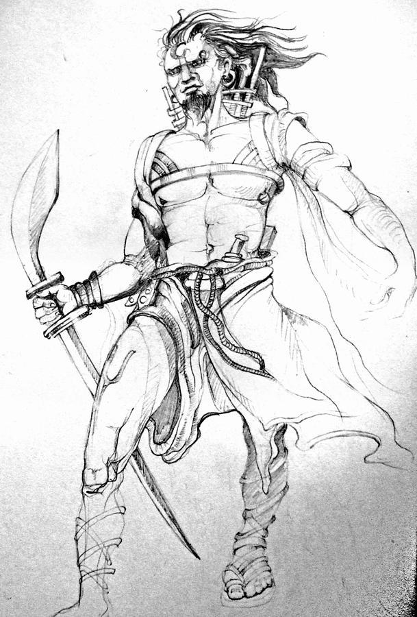 609x900 Drawing By Satyabrata Adhikary