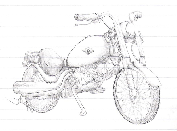 615x455 Honda Shadow By Rainbowboa
